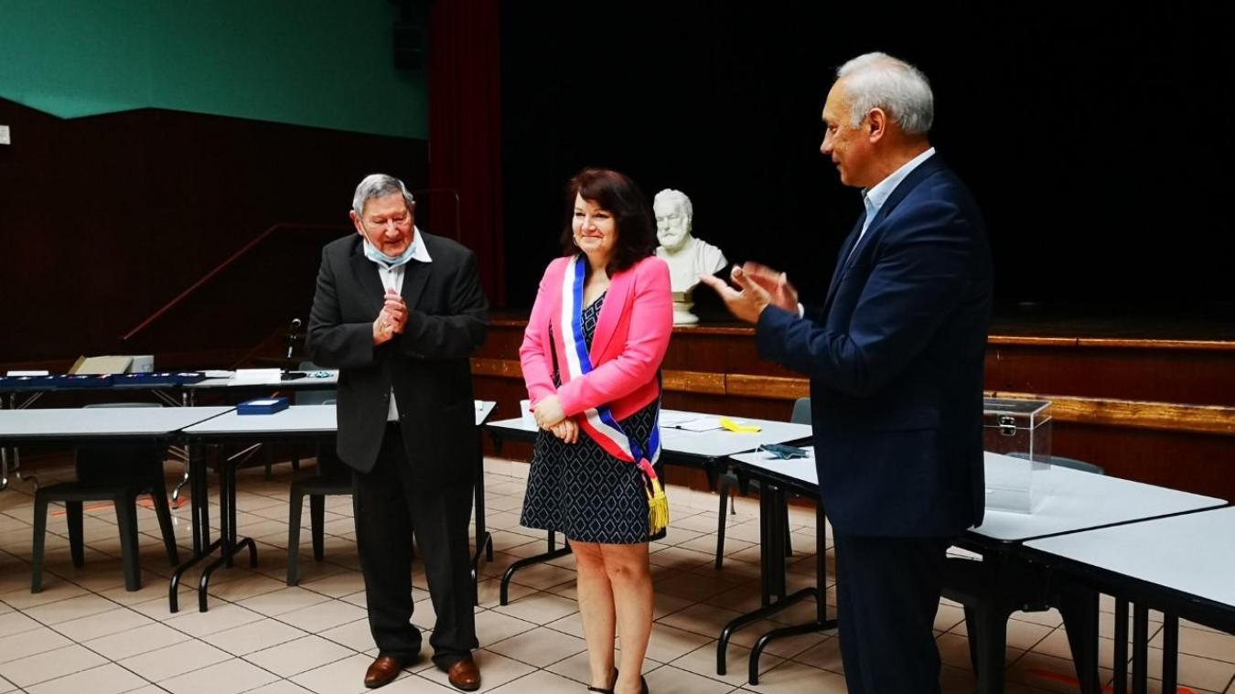 Labuissière: Isabelle Dudillieu est la première femme maire