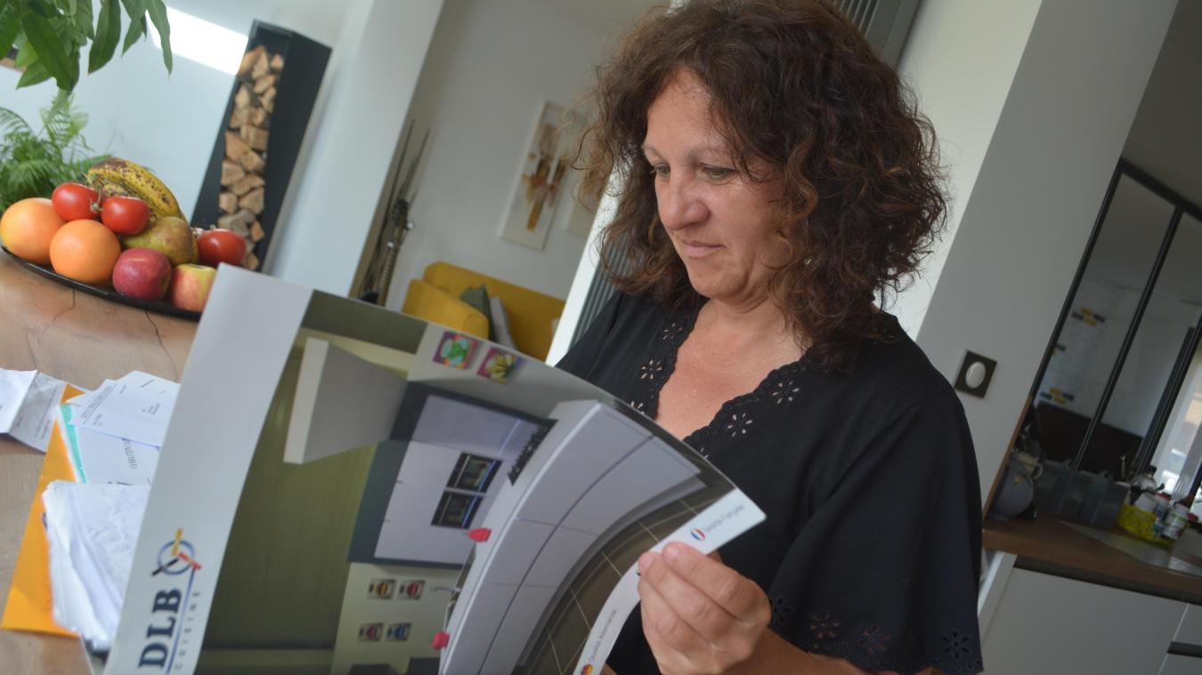 Fabienne Deroy fait partie des administrateurs de la page Facebook Clients arnaqués de DLB Dunkerque
