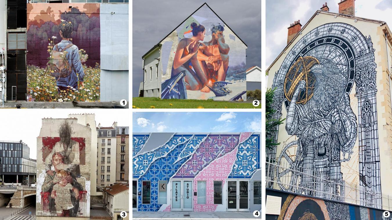 Cinq artistes de renommée internationale ont été sélectionnés par la Ville pour transfigurer six murs grisâtres de la cité maritime. Ils interviendront du 23 juillet au 31 août. Deux artistes locaux prennent également part à la 5e édition du festival de street art.