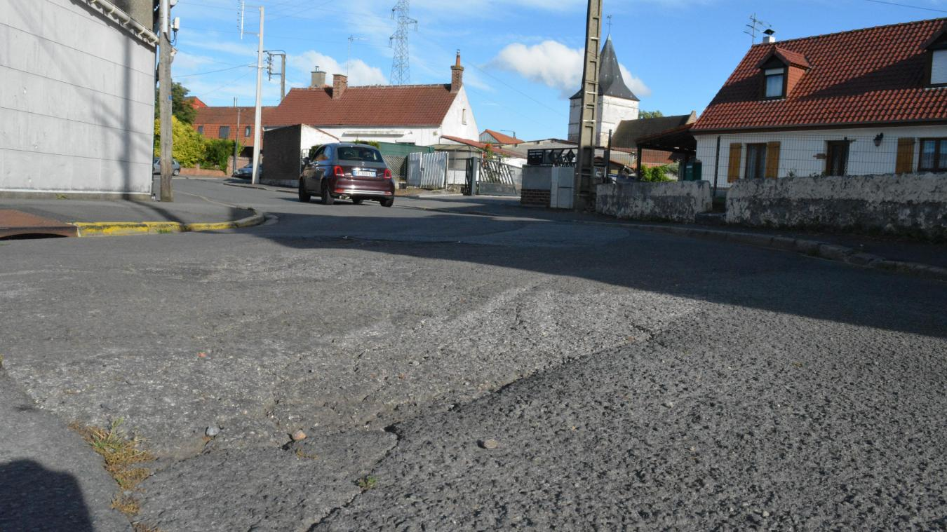 Un dernier tronçon de la rue Pressé est encore à rénover.