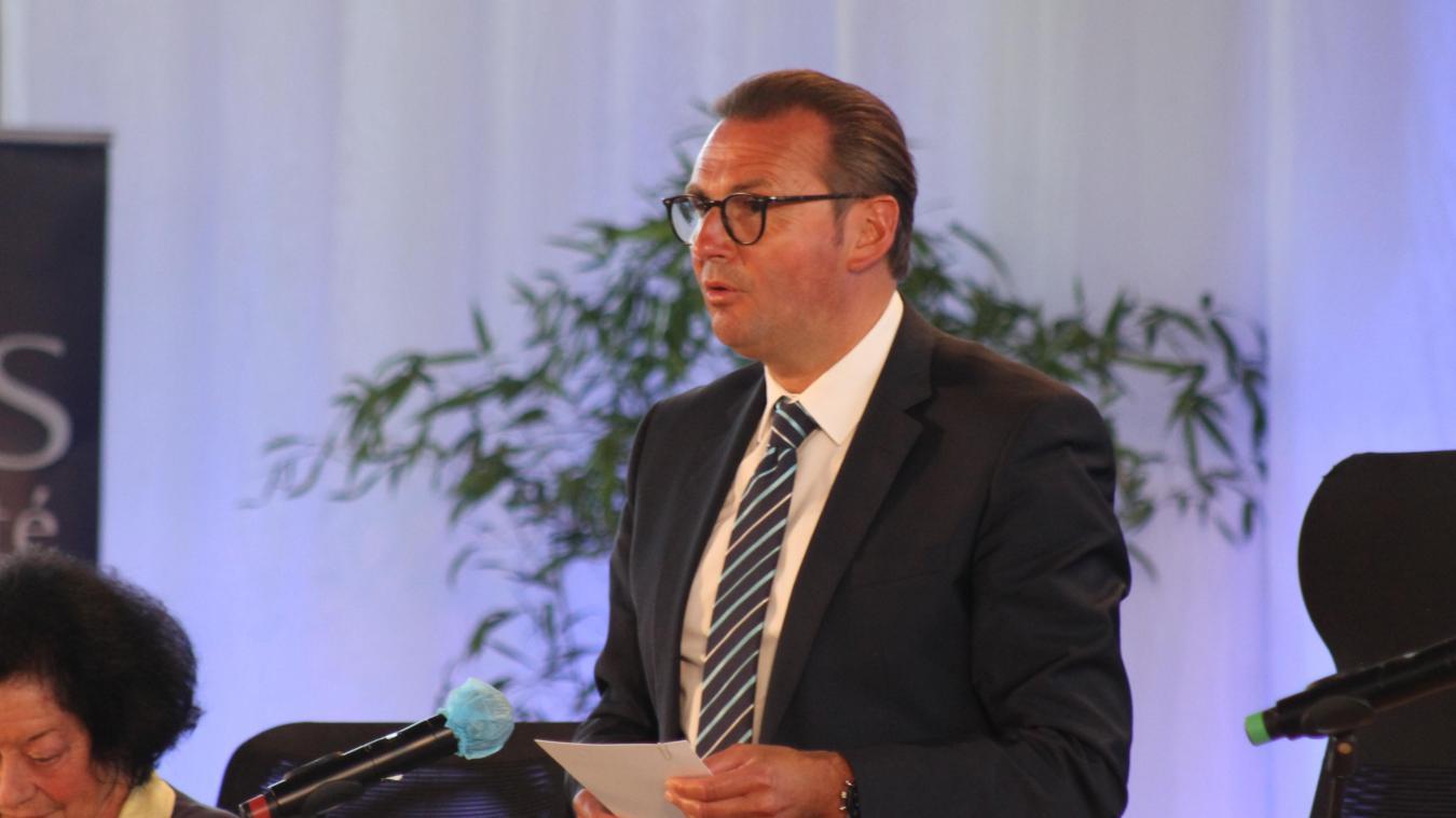 Frédéric Leturque, nouveau président de la Communauté urbaine d'Arras