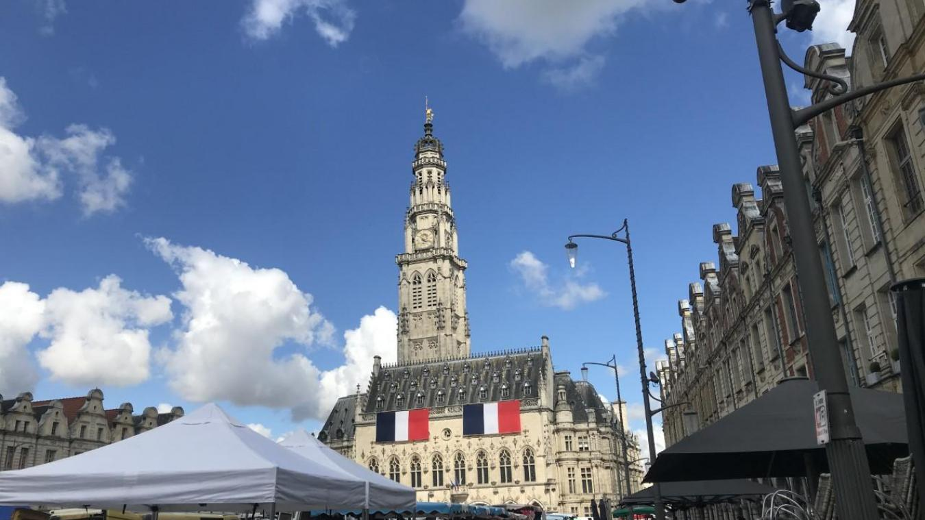 Arras : défilé et remise de médailles pour une Fête nationale pas comme les autres