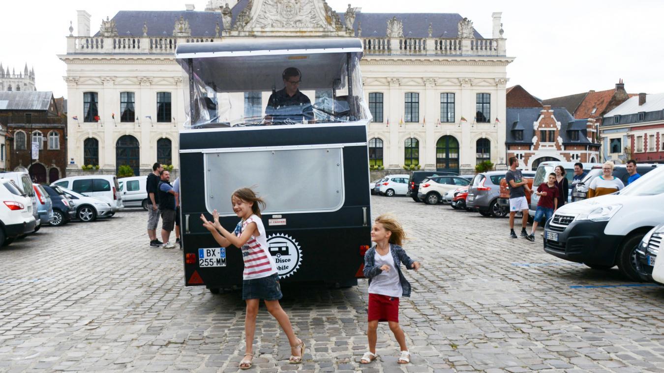 Retrouvez la disco-mobile le 15 juillet à Aire-sur-la-Lys