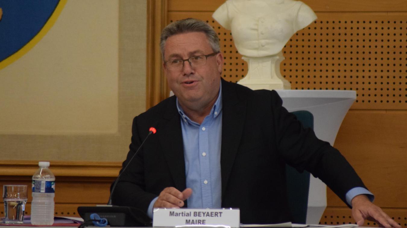 Pour le maire, Martial Beyaert, Grande-Synthe a été une collectivité « exemplaire » pendant la crise.