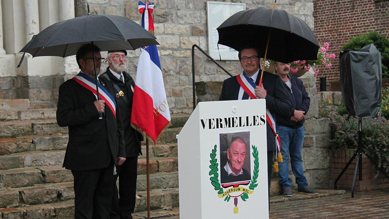 Vermelles : un hommage républicain pour Claude François, figure emblématique de la ville