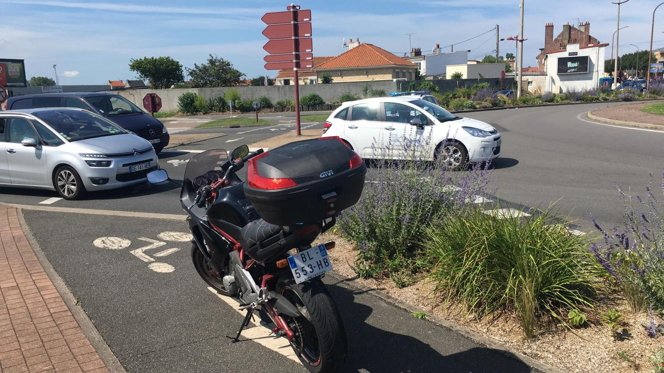 Calais: un motard blessé dans une collision