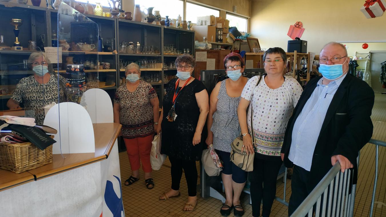 Les bénévoles de La Frat sont présents trois après-midi par semaine pour vous recevoir.