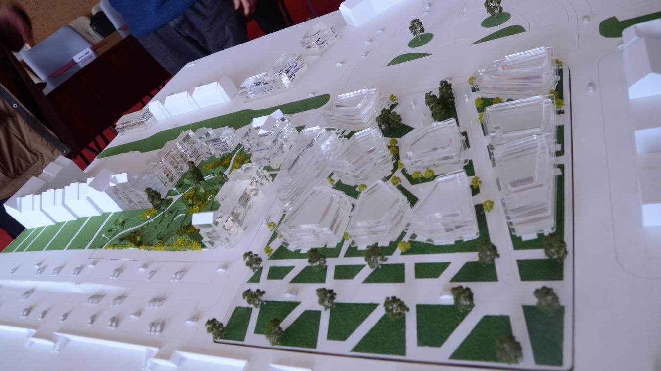 Le projet tel qu'il avait été présenté par la municipalité en 2016