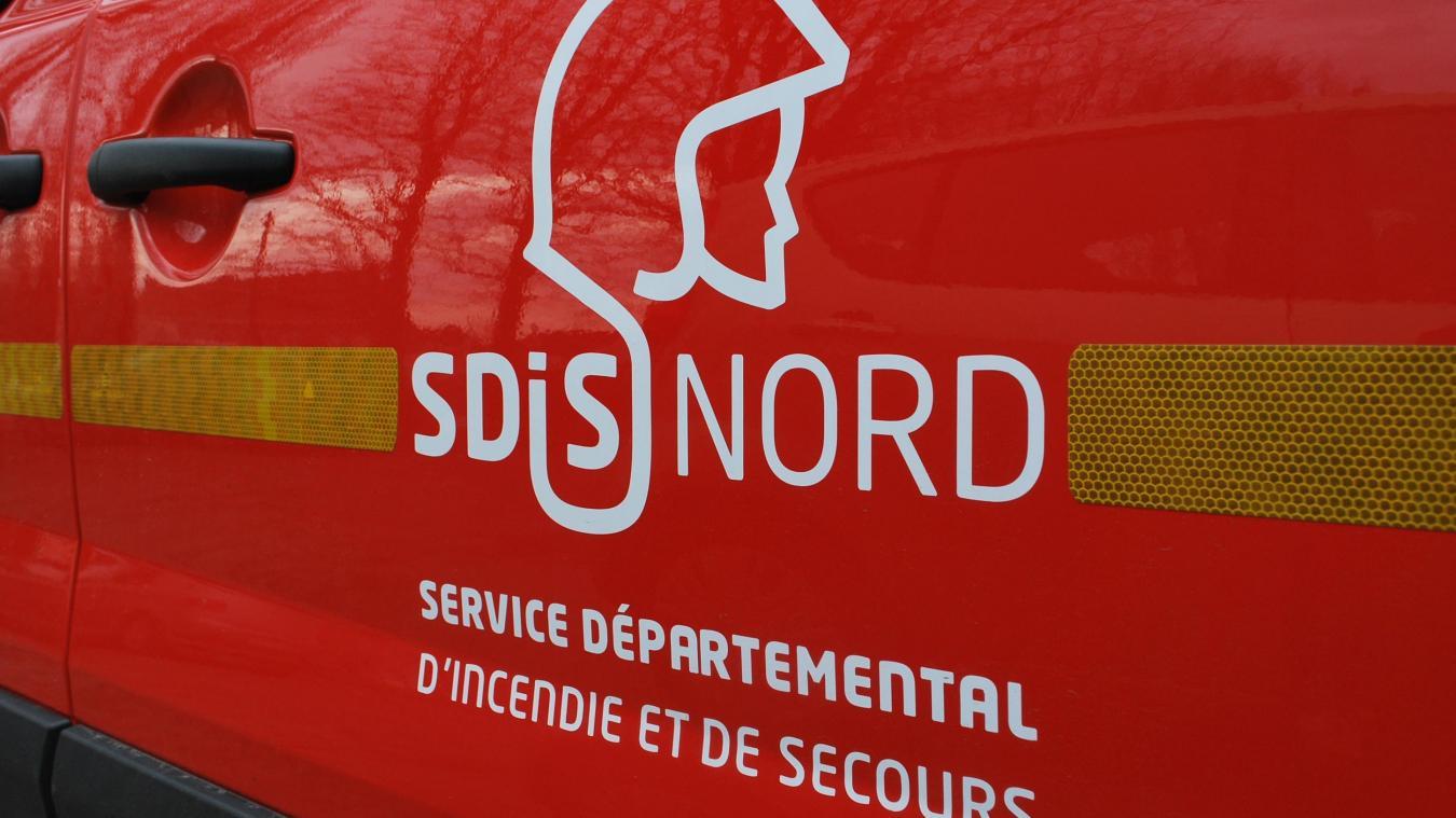 Quatorze pompiers sont intervenus sur l'accident survenu lundi 15 juillet à Hardifort.