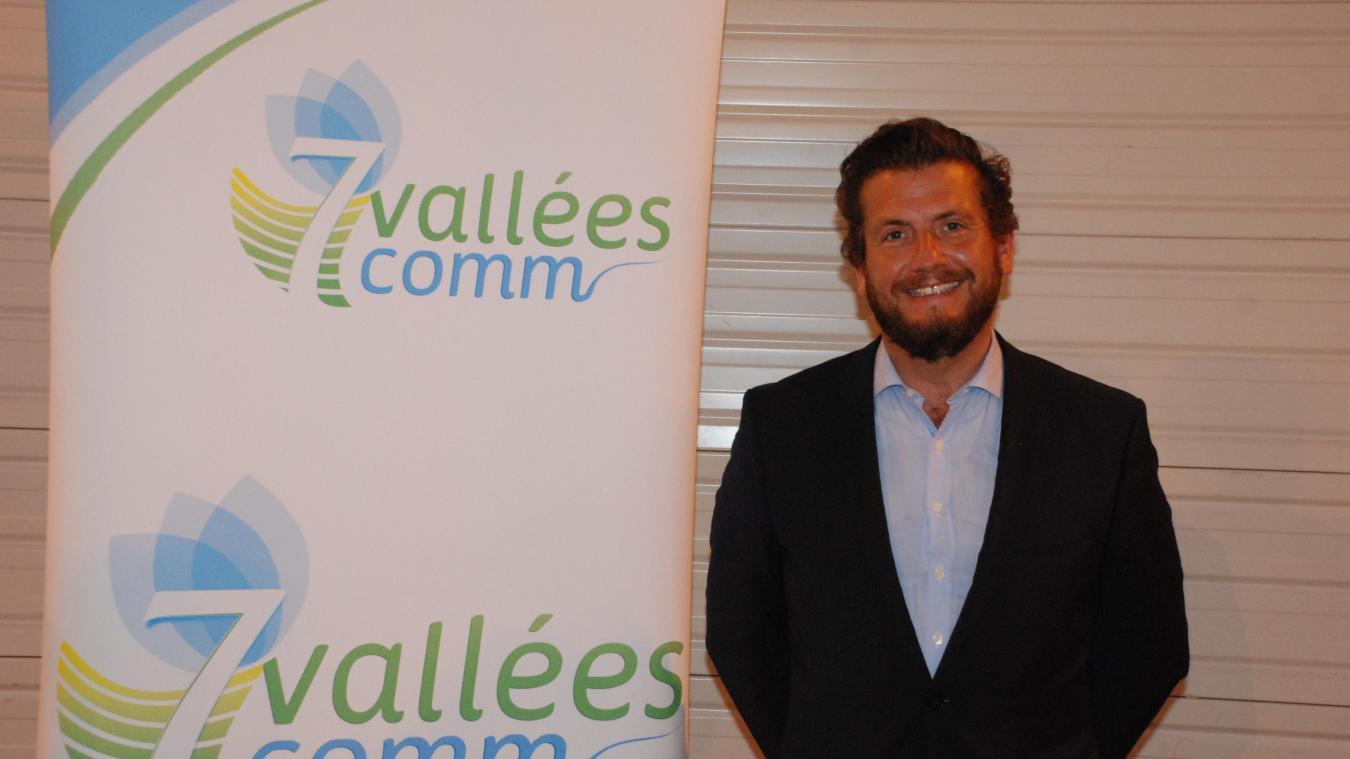 Le maire d'Hesdin prend les rênes de la communauté de communes des 7 Vallées.