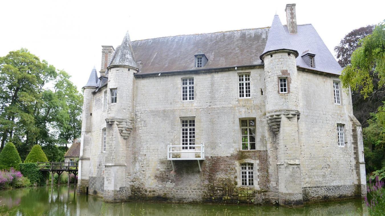 Le château de Créminil, à Estrée-Blanche, se visite tout l'été.