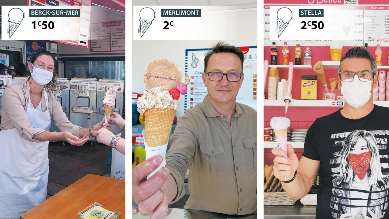 Avec une moyenne de 2 euros, la glace reste un plaisir accessible à tous