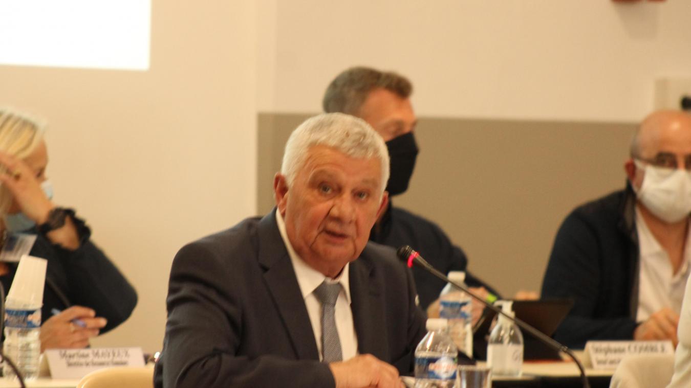 Agglo : seul en lice, Pierre Georget réélu à la présidence d'Osartis-Marquion