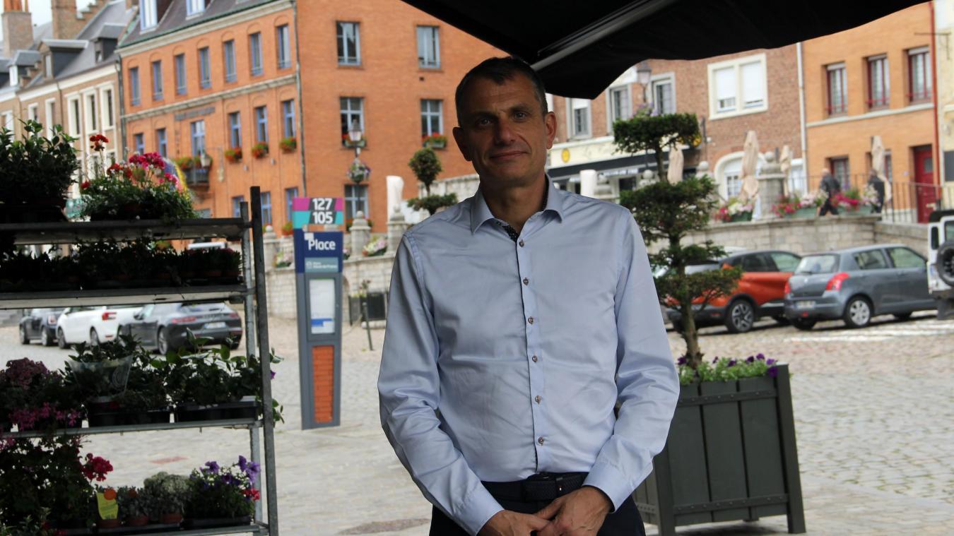 Fabrice Duhoo anime la commission essor économique, culture et environnement.