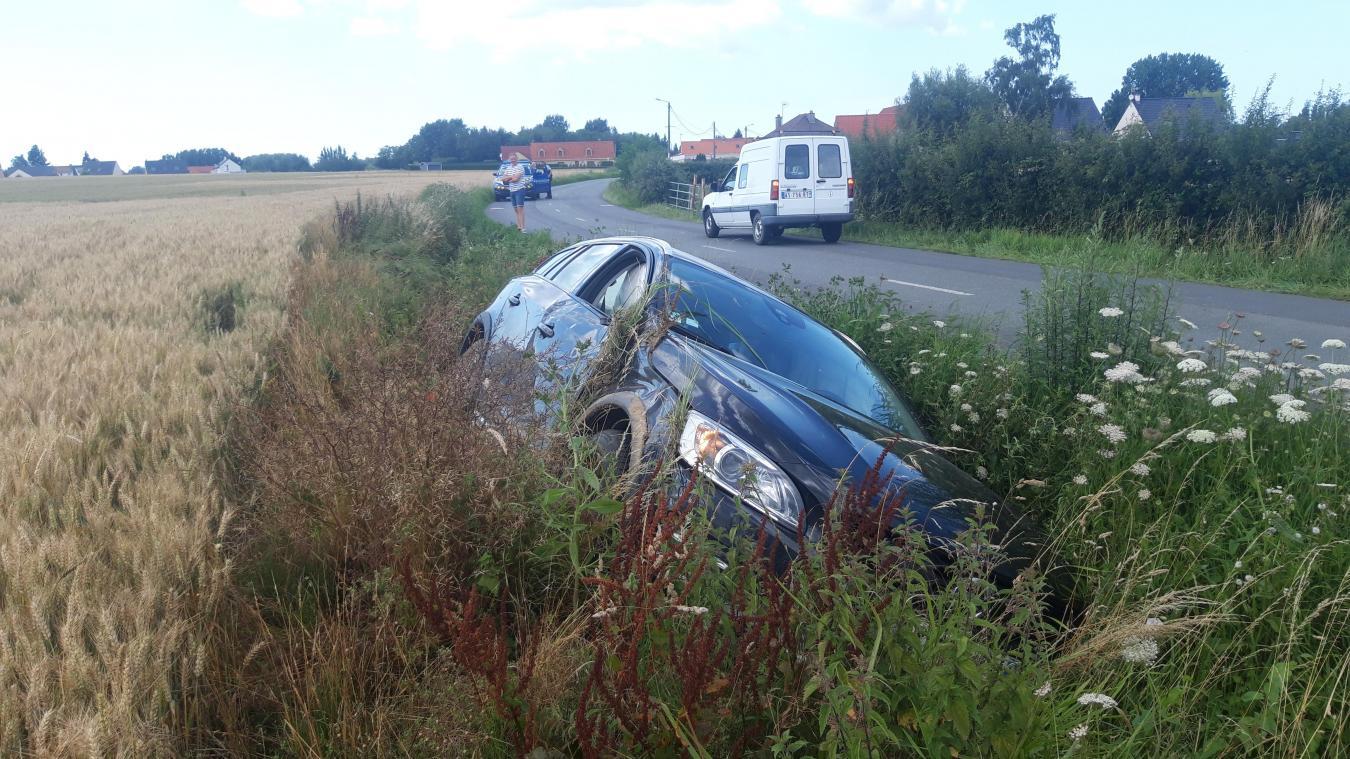 Les dégats sont surtout matériels, même si la passagère de la Volvo a été blessée légèrement.