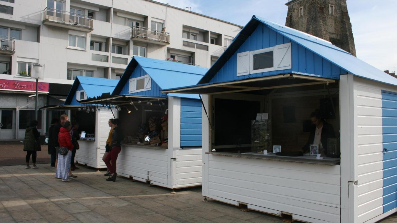 Le marché de créateurs 'Made in Calais' est installé place d'Armes jusqu'à dimanche inclus.