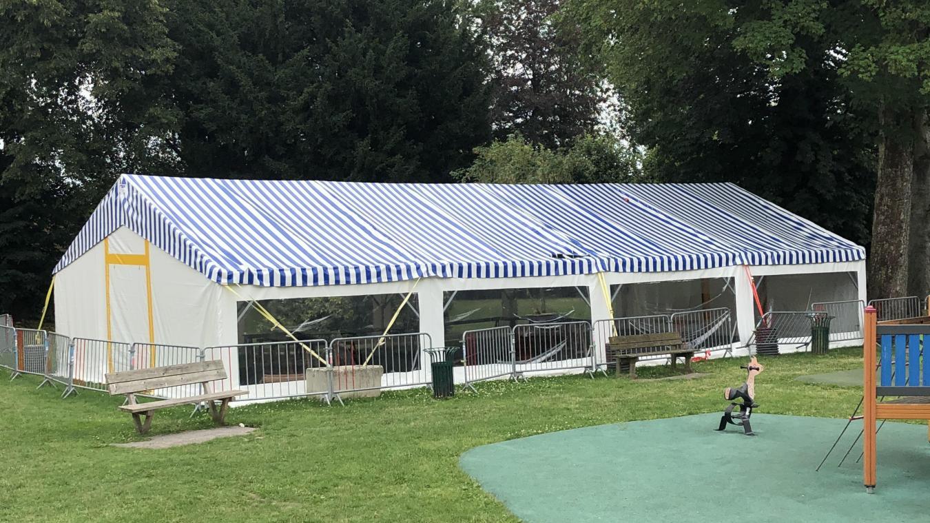 Le parc Saint-Walloy était donc fermé ce dimanche 19 juillet et a rouvert ce lundi 20 juillet.