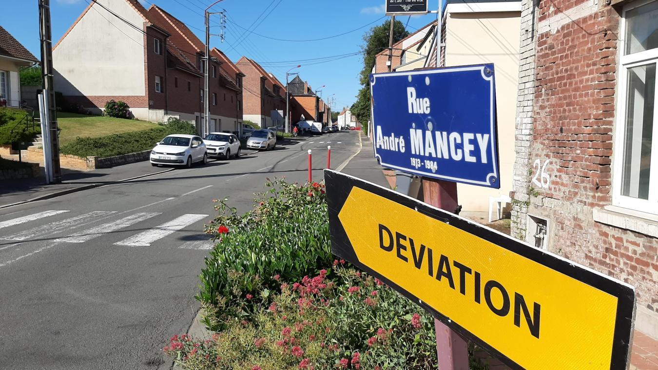 Ludovic Idziak compte réduire la vitesse sur la rue André-Mancey. Afin de couper la circulation, des chicanes seront mises en place.