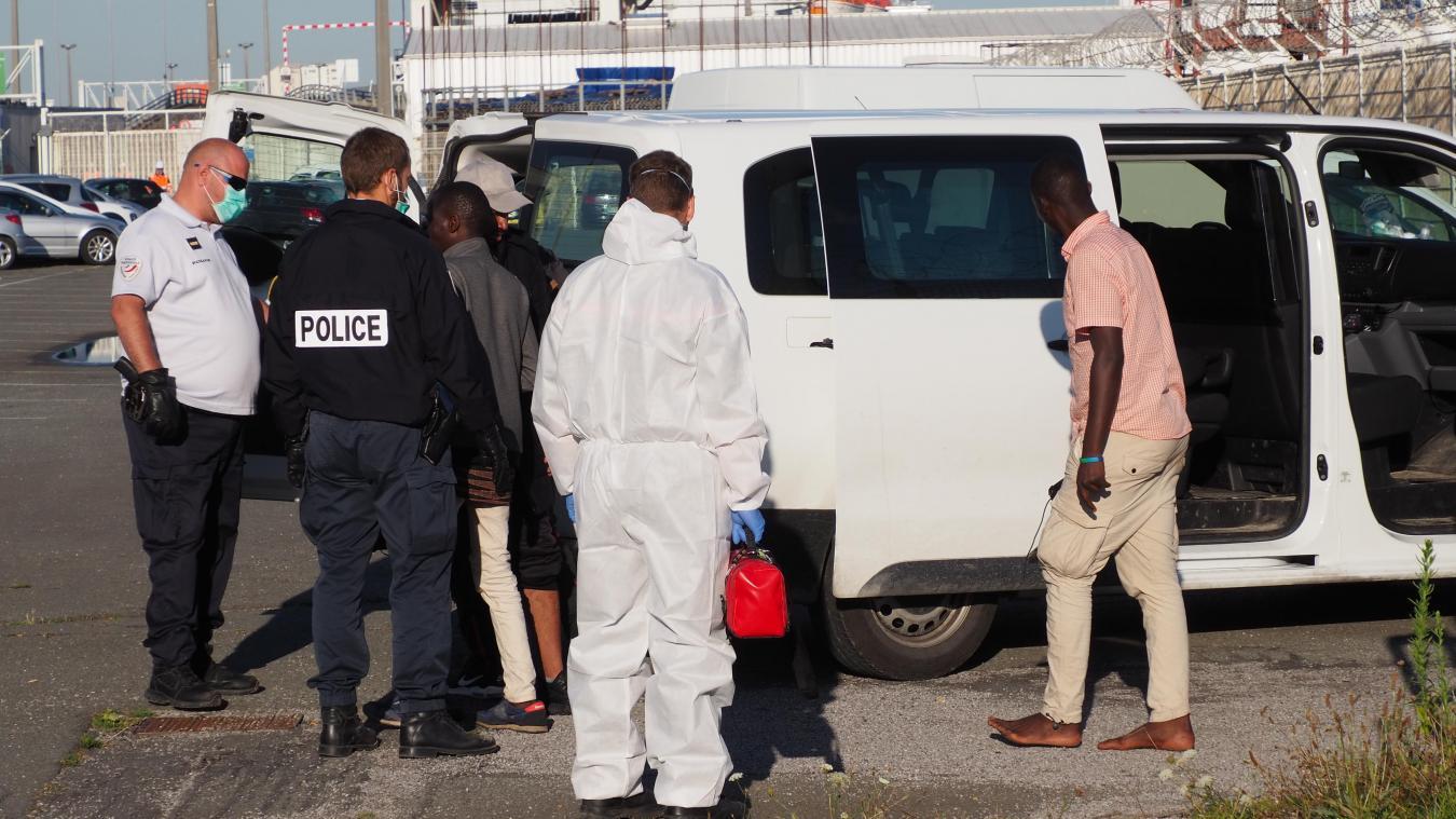 Calais : quatre Soudanais récupérés au large, sauvés par la SNSM