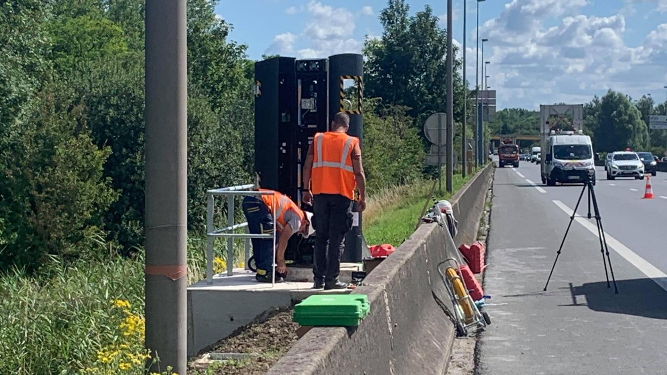 L'intervention eu lieu ce mardi 21 juillet dans la matinée, sur l'autoroute A16, dans le sens Belgique-Calais.