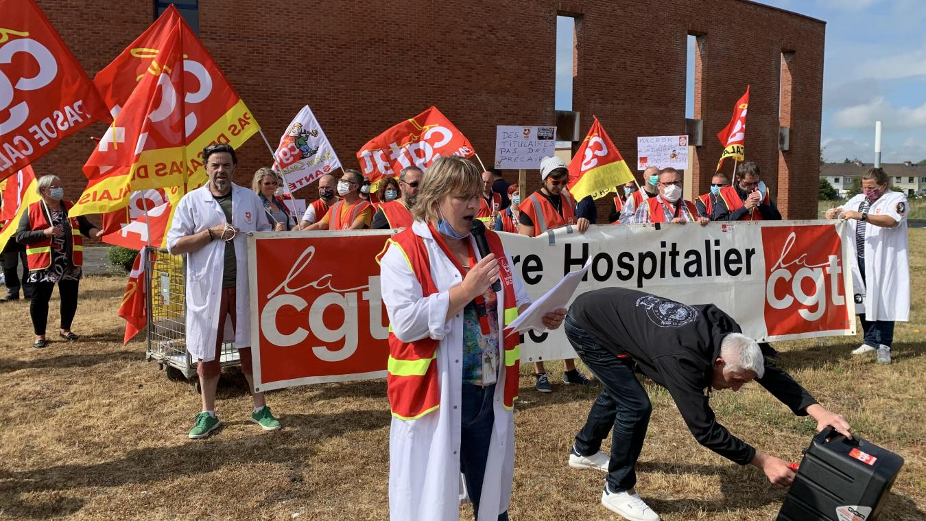 En juin, Séverine Vasseur avait mobilisé quelque 500 personnes pour revendiquer des avancées significatives au Ségur de la Santé.