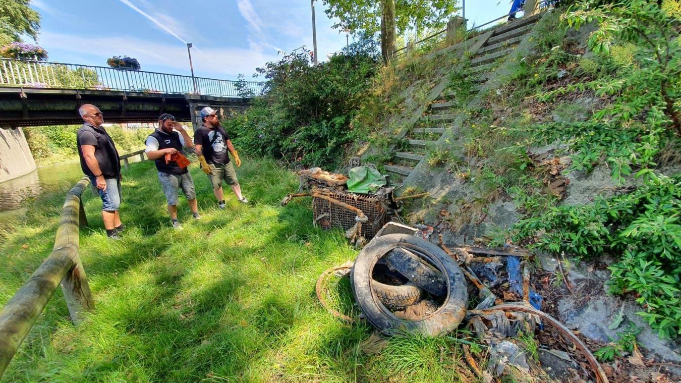 Dunkerque : une plainte déposée par L'Aimant dunkerquois contre les pollueurs des berges