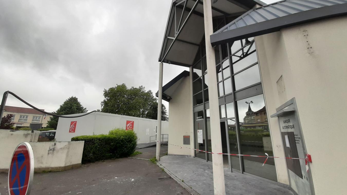 Auchel: la Caisse d'épargne rouvrira en novembre