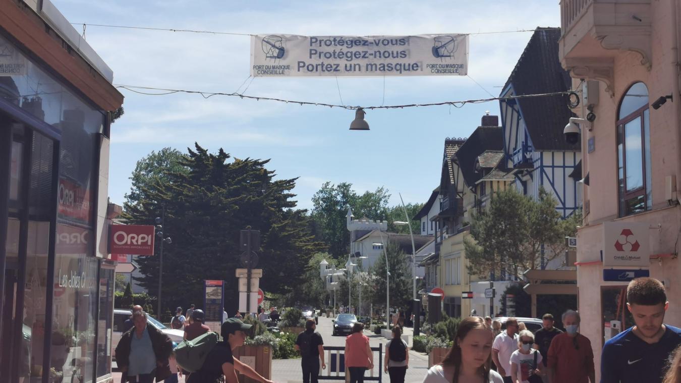 Rue Saint-Jean, des agents inciteront les promeneurs à porter un masque