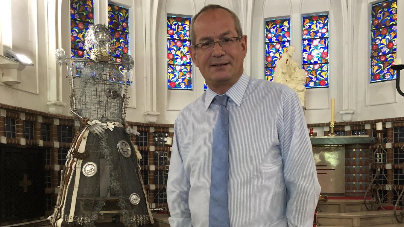 L'abbé Janin est arrivé en tant qu'aumônier de l'EPSM des Flandres en 2000.