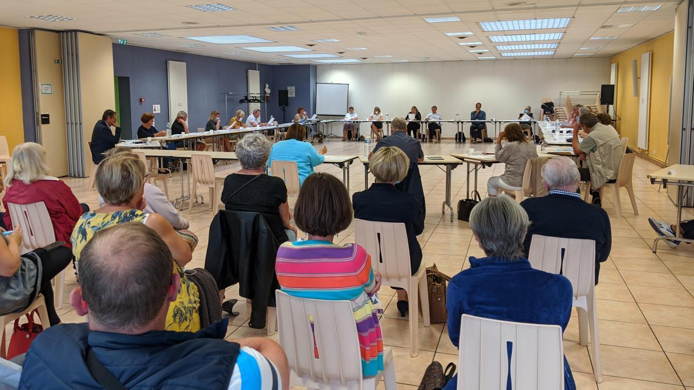 Le conseil municipal s'est réuni le 15 juillet.