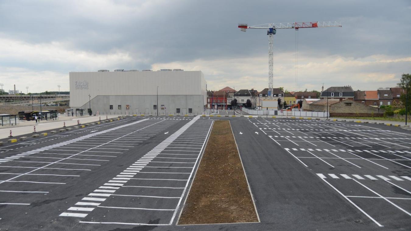 Un nouveau parking accessible à la gare de Béthune