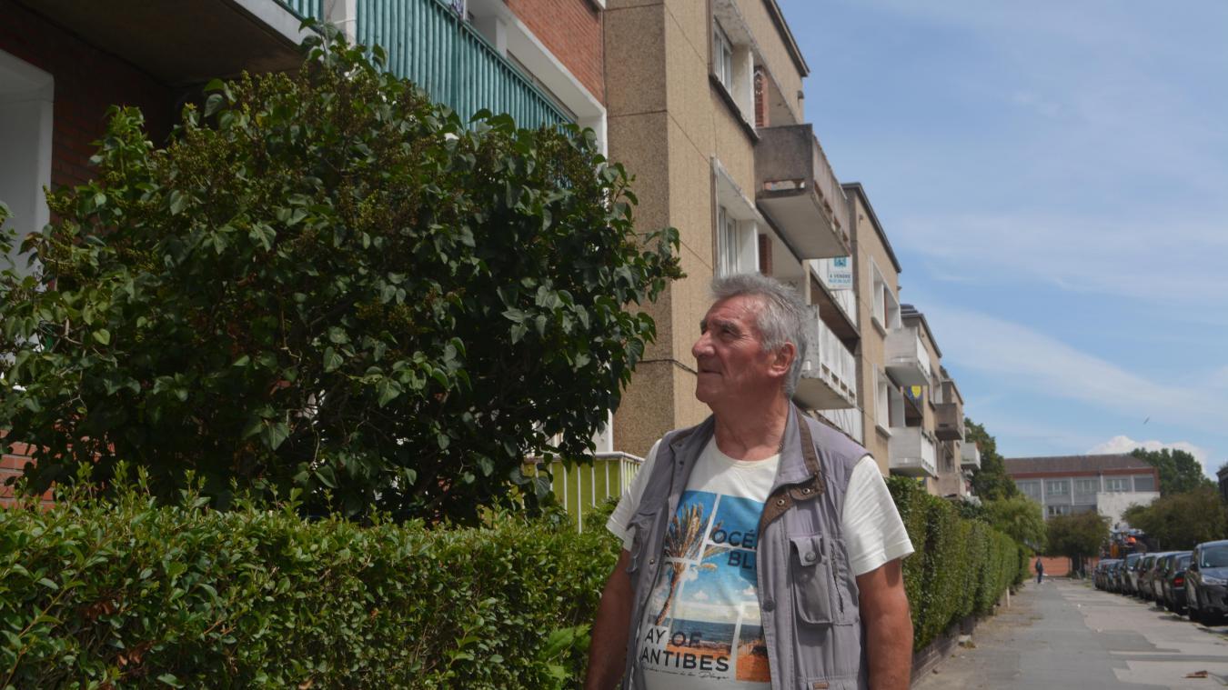 Bernard Pottier cherche activement un apprtement depuis un mois. Sans succès pour le moment.