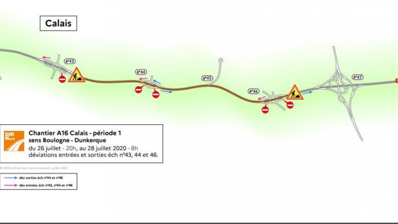 La circulation sera délicate ces prochains jours sur l'A16.