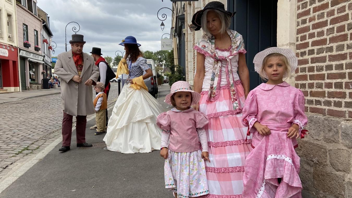 Ne vous étonnez pas de voir couples bourgeois et petites demoiselles vêtues de rose bonbon dans les rues de Montreuil dans les jours à venir !