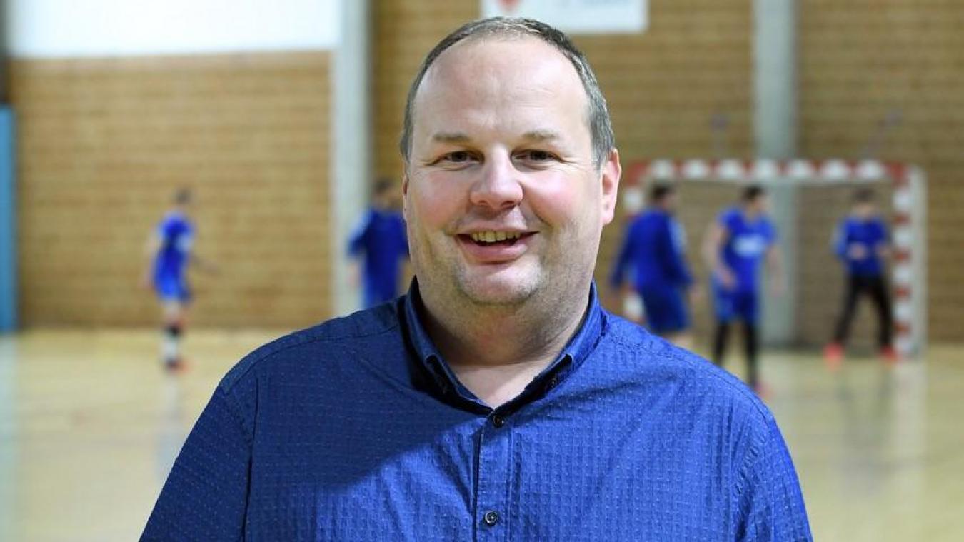 David Douché, président du SO Calais: «Se faire plaisir en jouant au handball»