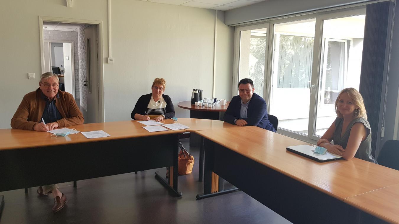 Hinges: 50 000 euros pour venir en aide au commerce local