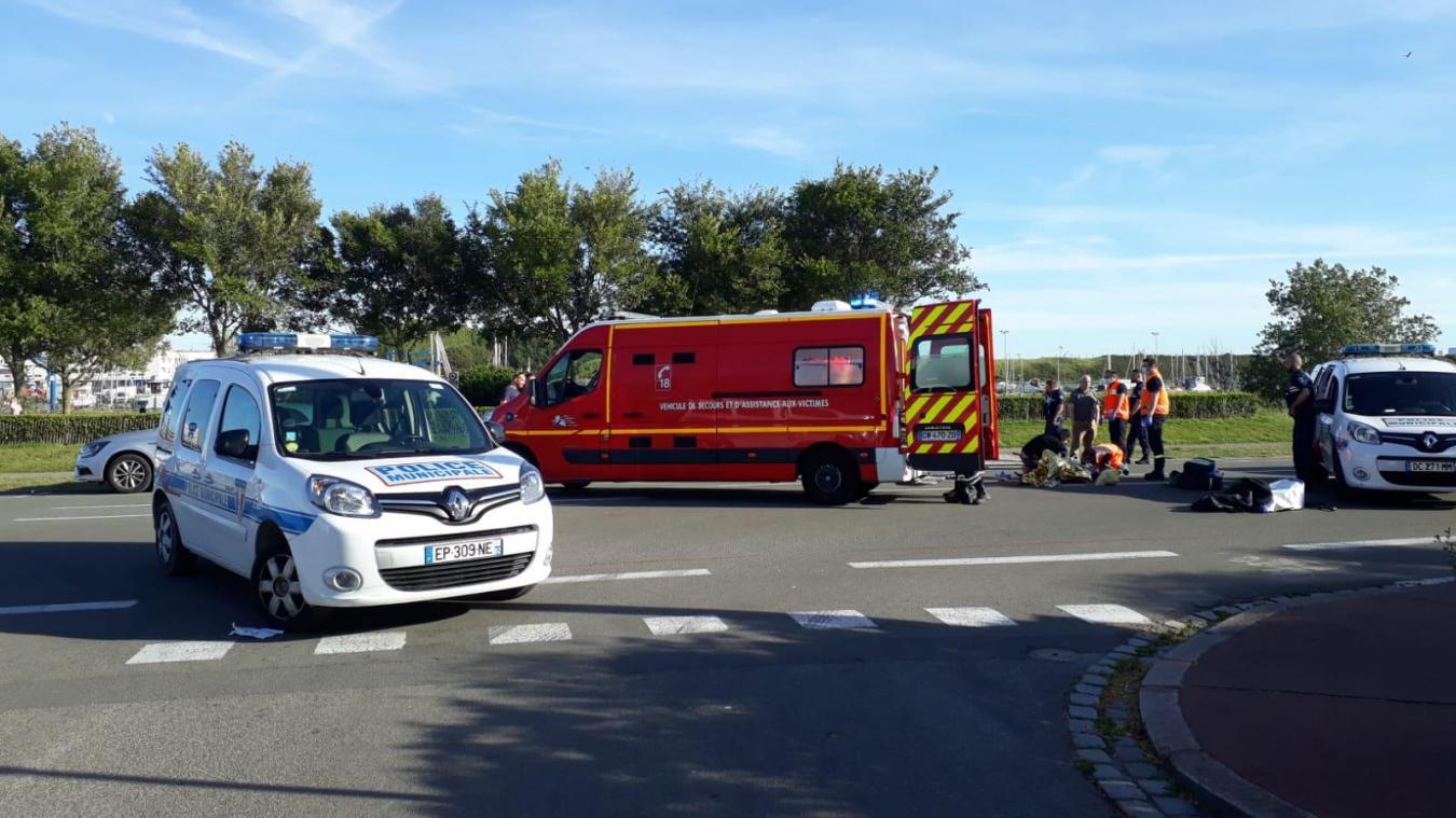 Calais: un cycliste héliporté à Lille après un accident avec une voiture