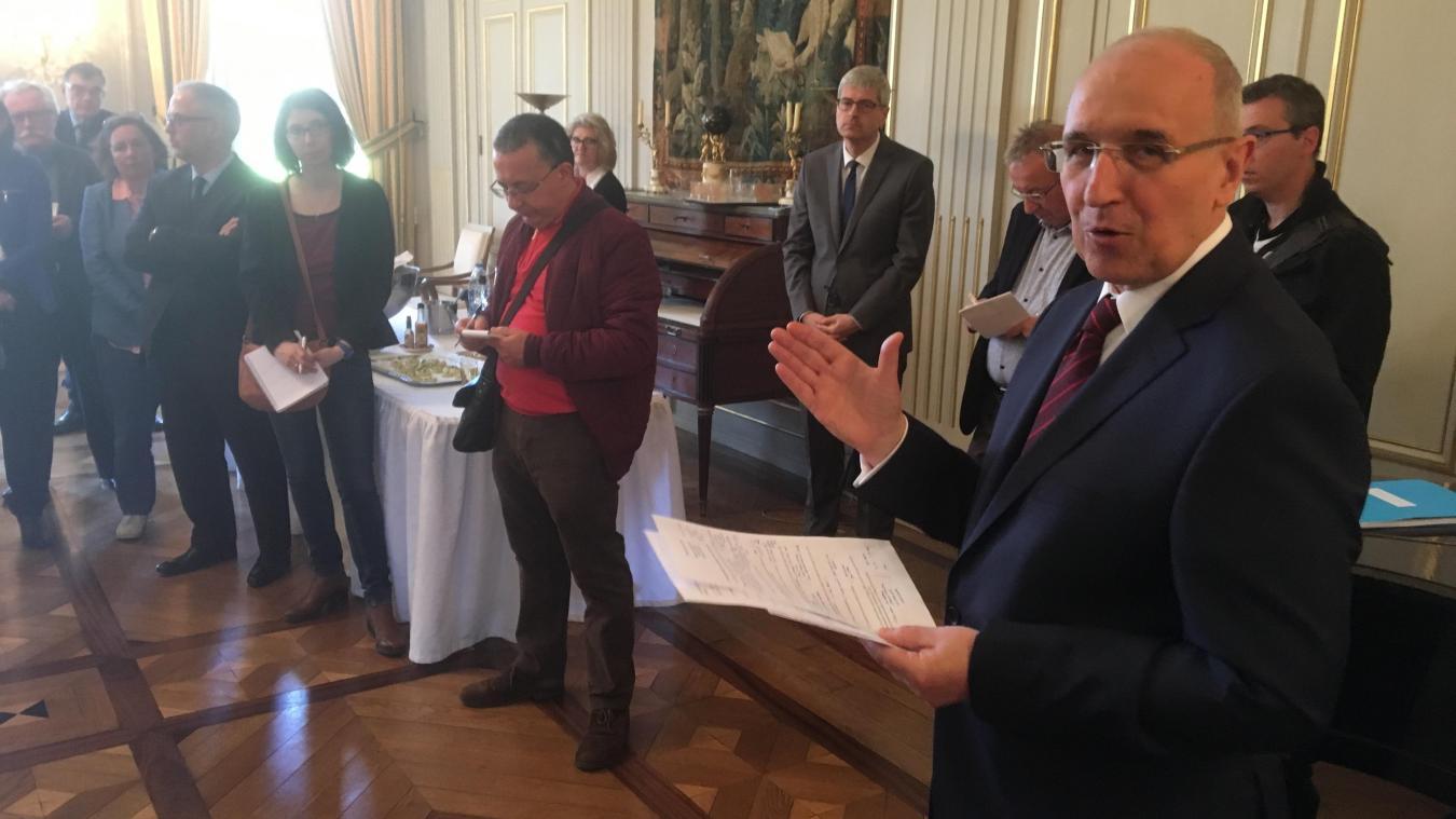 Le préfet du Pas-de-Calais Fabien Sudry nommé préfet de région en Côte d'Or