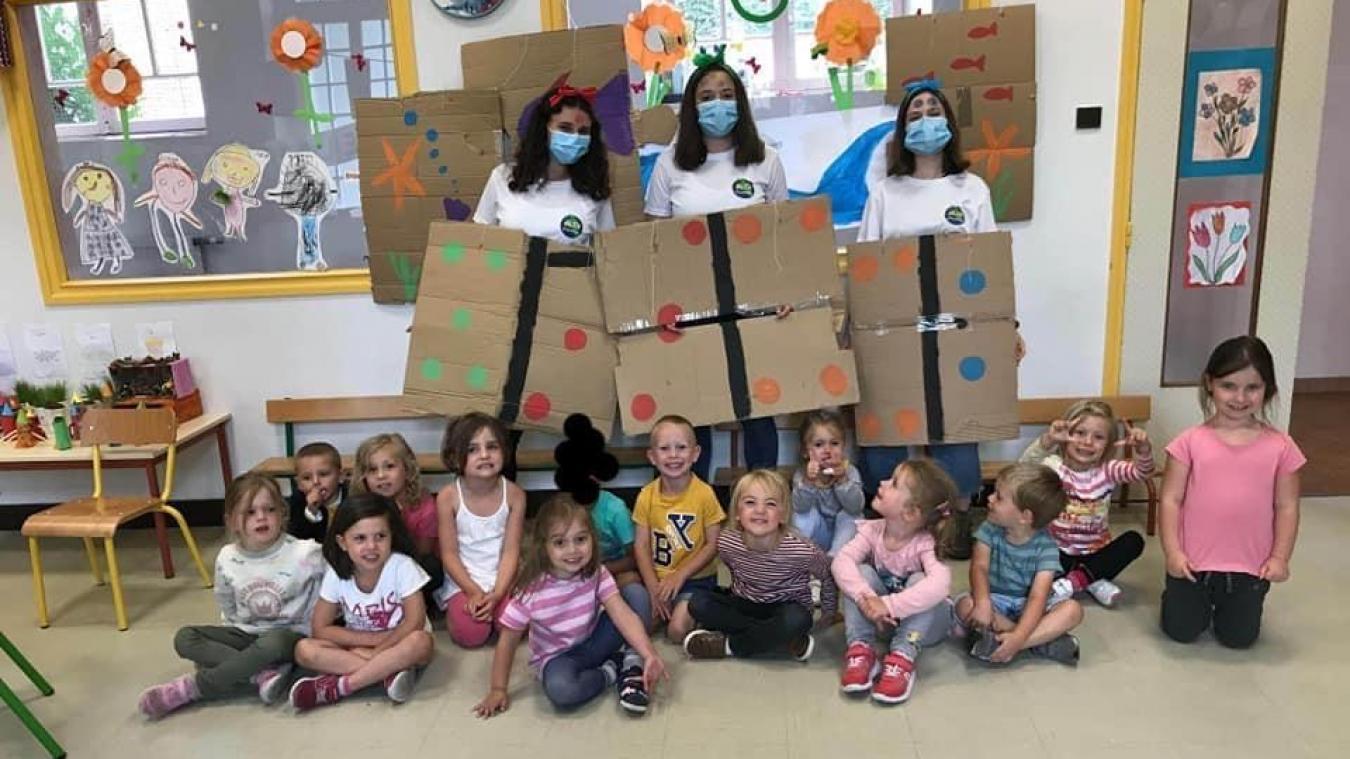 Les enfants ont ainsi passé un bel été grâce aux efforts des animateurs !  (Crédit photo ALSH du Montreuillois)