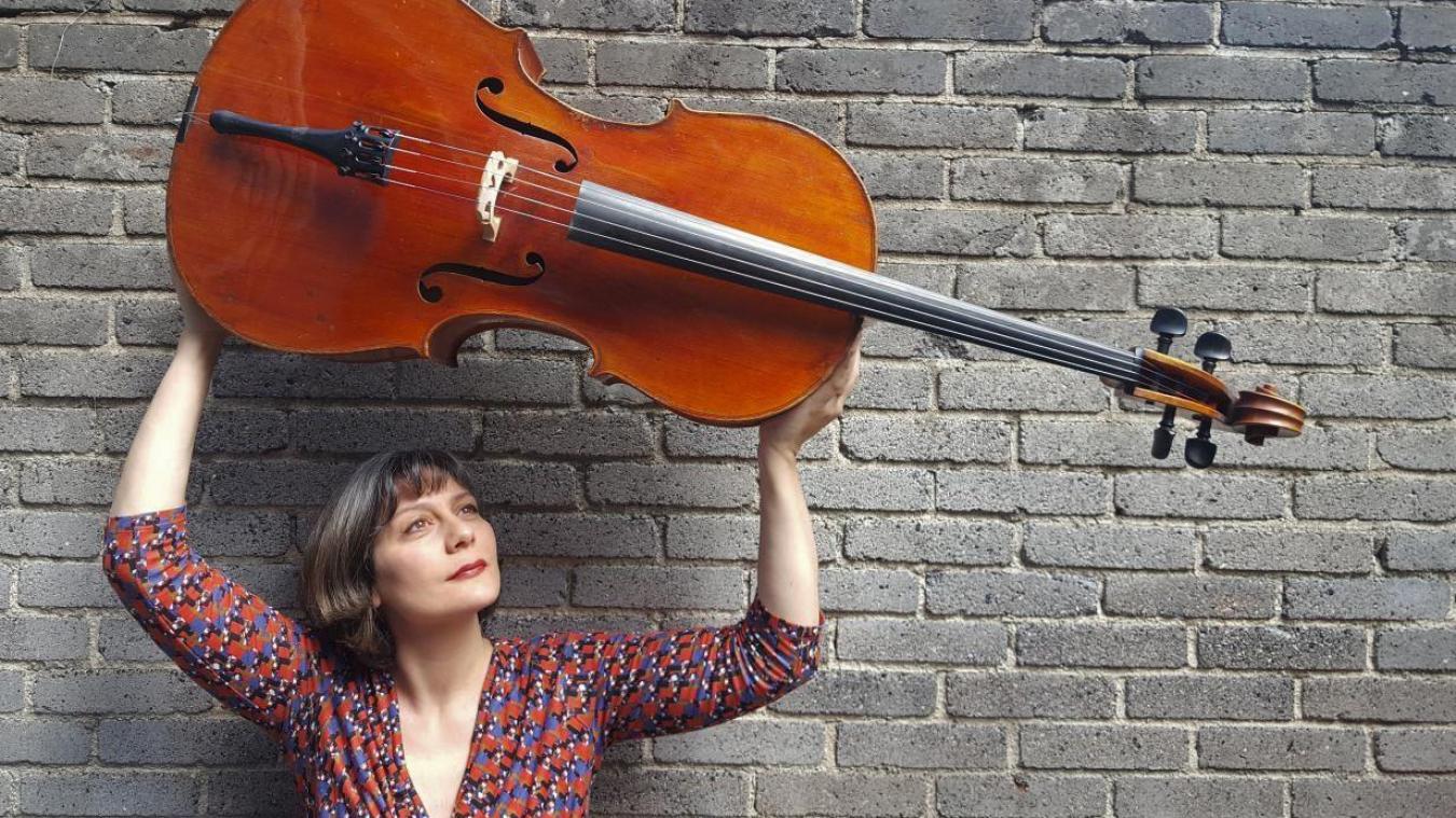 Delphine Fournier a choisi Aire-sur-la-Lys pour son récital de violoncelle.