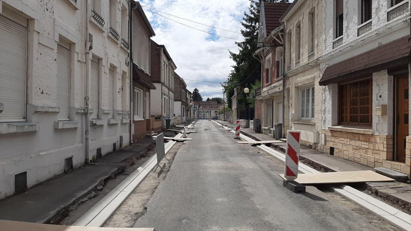Auchel: une fin de chantier pour septembre
