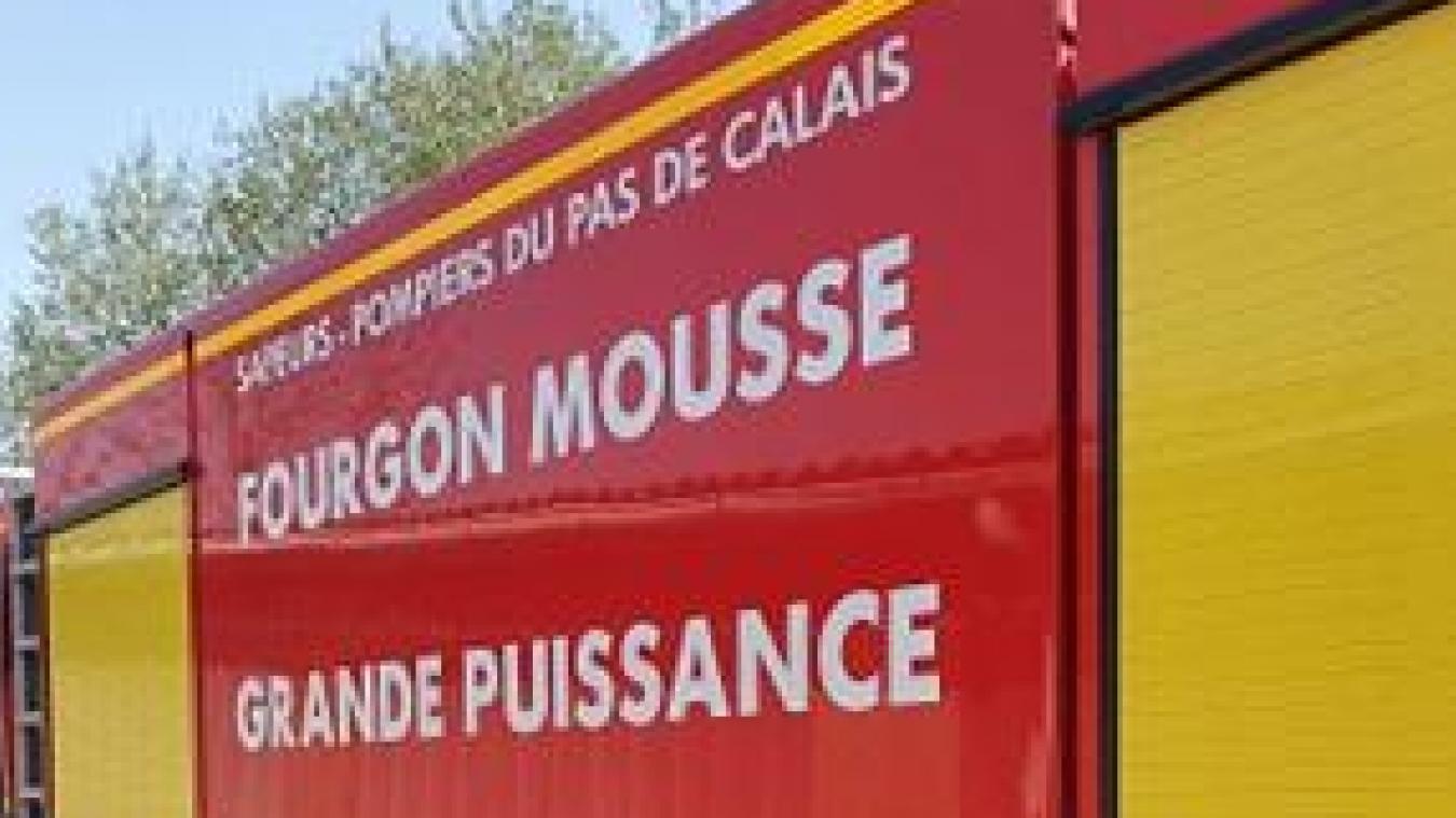 Harnes: feu de friteuse dans un bâtiment industriel