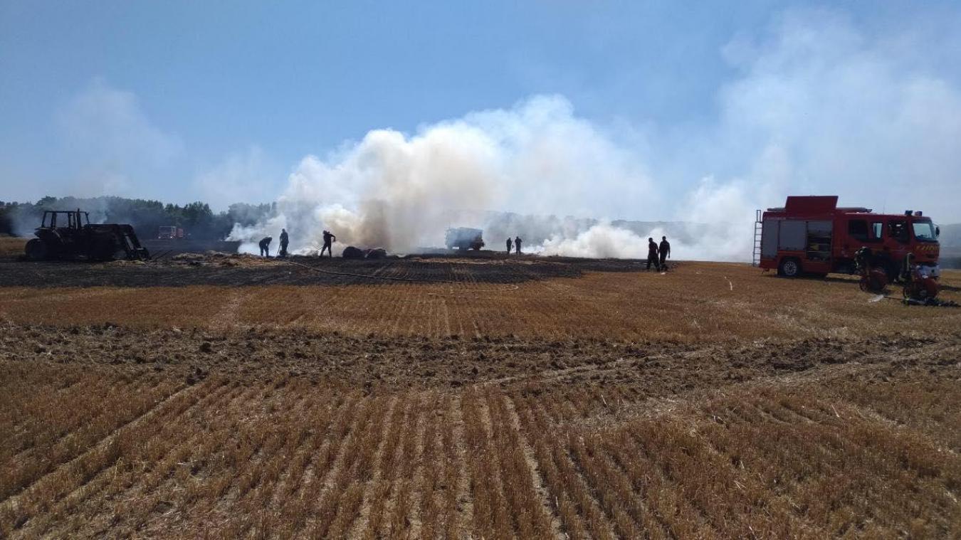 Nouveau feu de tracteur, cette fois à Blaringhem