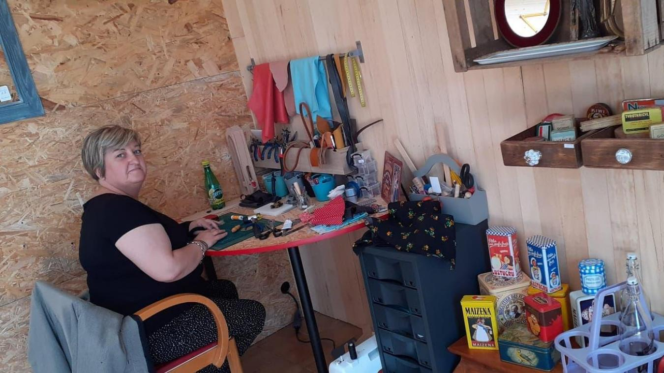 Isbergues : Sylvia transforme de la récup en bijoux
