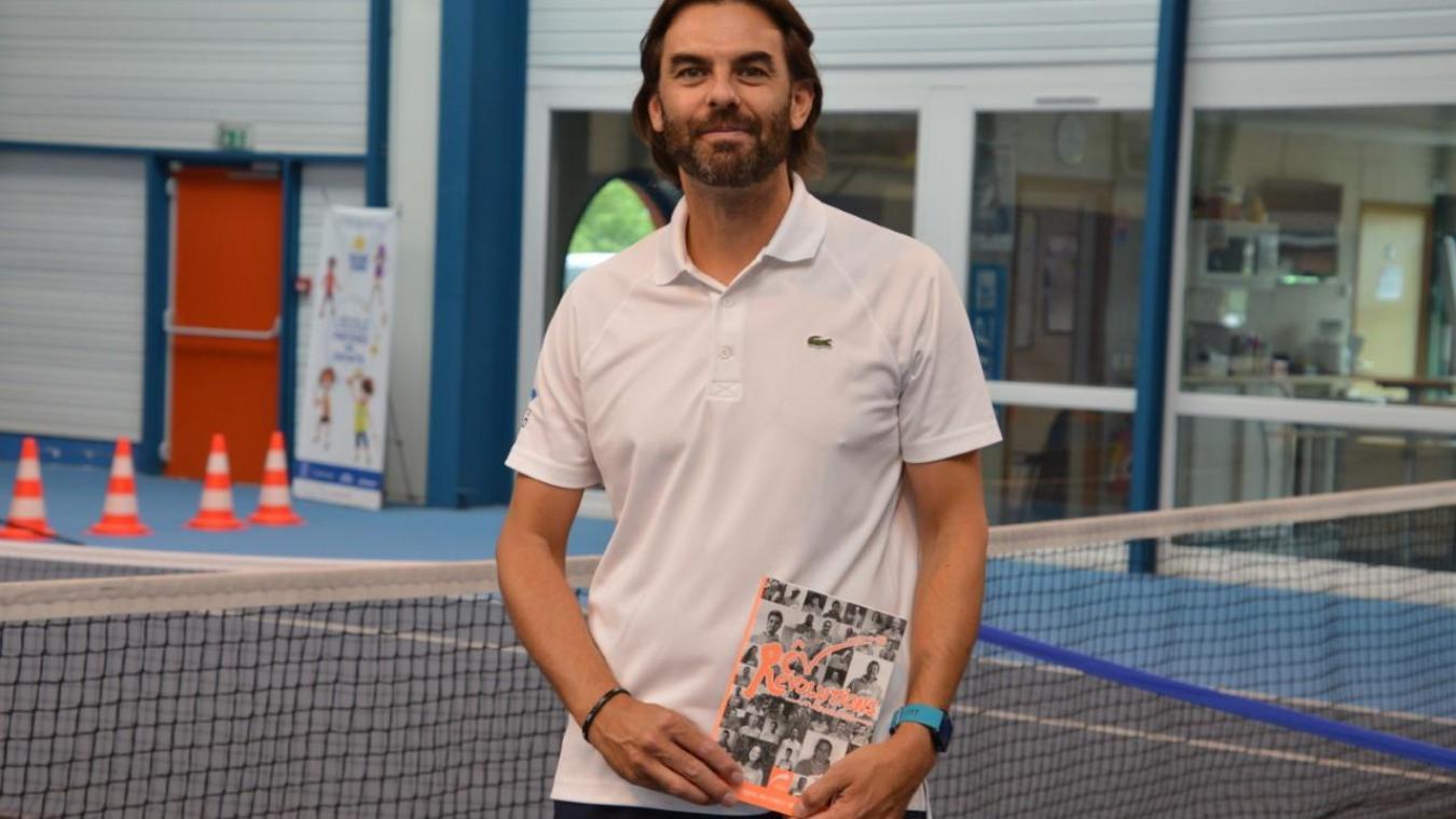 Michaël Ooghe, responsable sportif du Tennis Club de Lestrem.