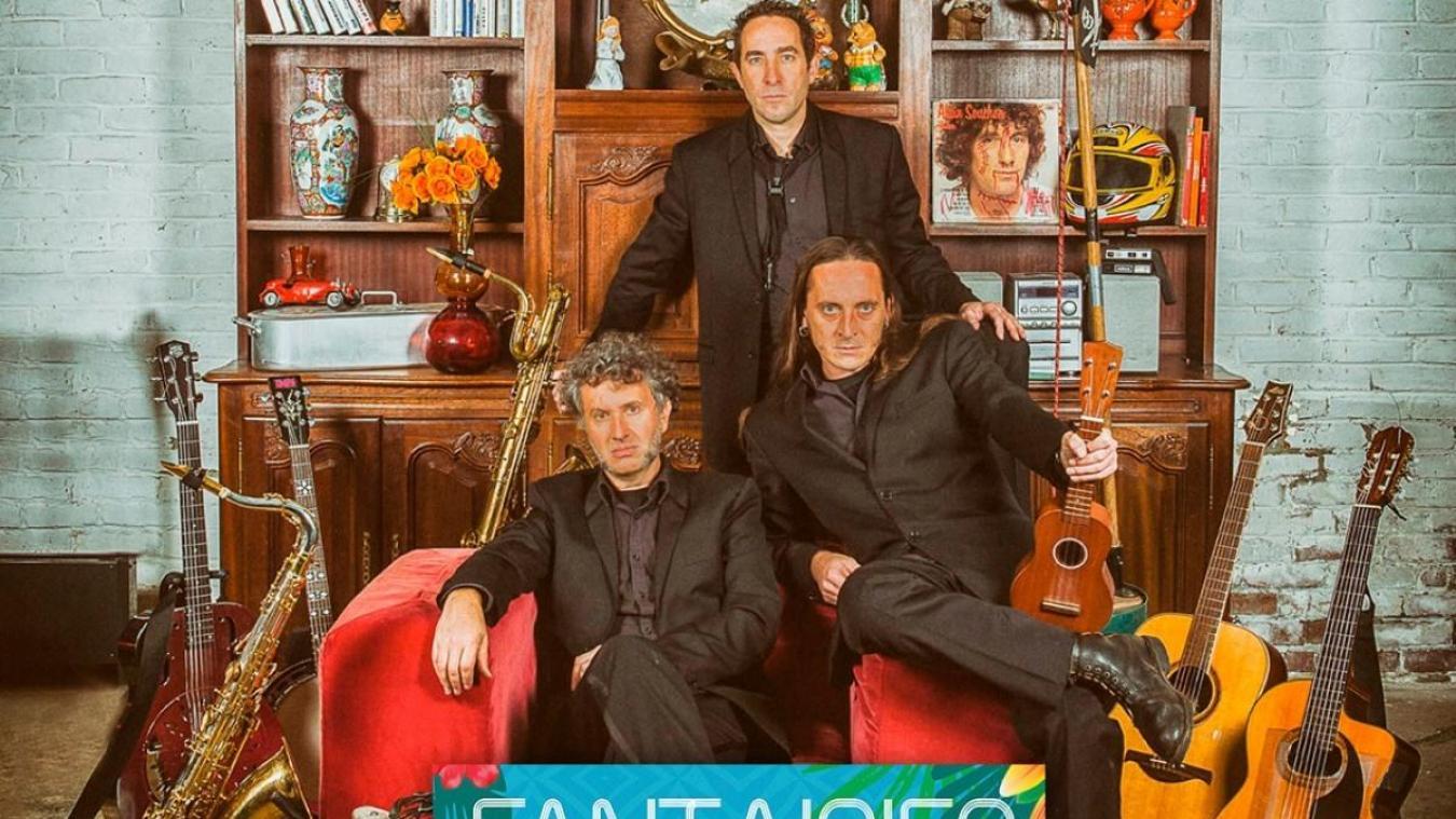 Dimanche 2 août, de 16 h à 17 h - Fantaisies au Jardin – Arsène Lupunk Trio : Jardin Valentine Hugo rue Guyale en Vieille-Ville.