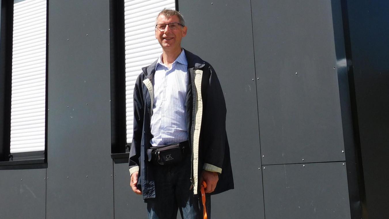 Christian Coupin, président depuis 23 ans de l' ESBBC.