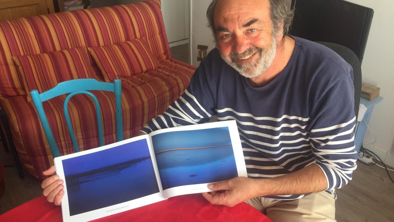 Alain Beauvois publie aujourd'hui son nouveau recueil de photos qui s'intéresse au littoral calaisien, côté mer du Nord.