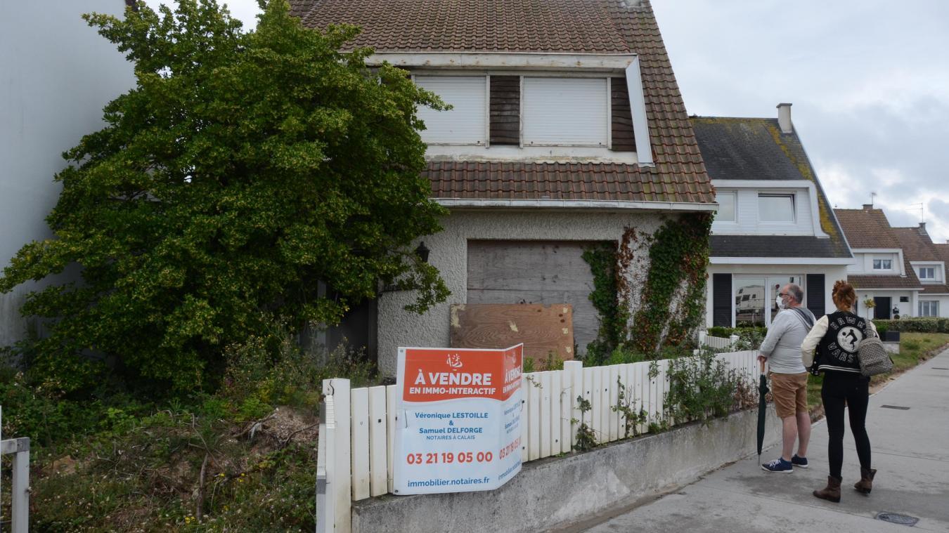 Le prix pour la maison abandonnée à Calais grimpe à 225 000 euros, et les enchères ne sont pas terminées...