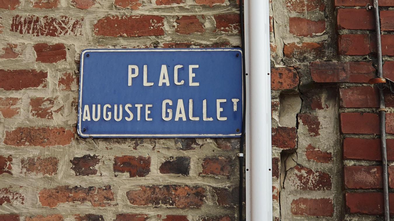 La place Auguste-Gallet sera la première équipée de caméras.